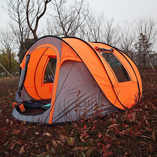 Bravindew Waterproof Tent X Large Instant 5 6 Person Pop
