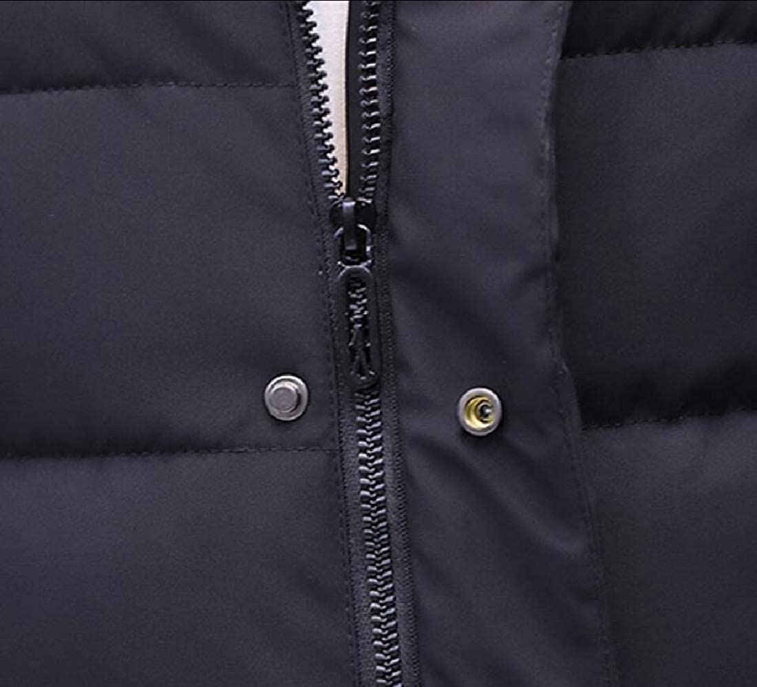 M/&S/&W Mens Down Puffer Jacket Winter Slim Fit Thicken Casual Parka Coat