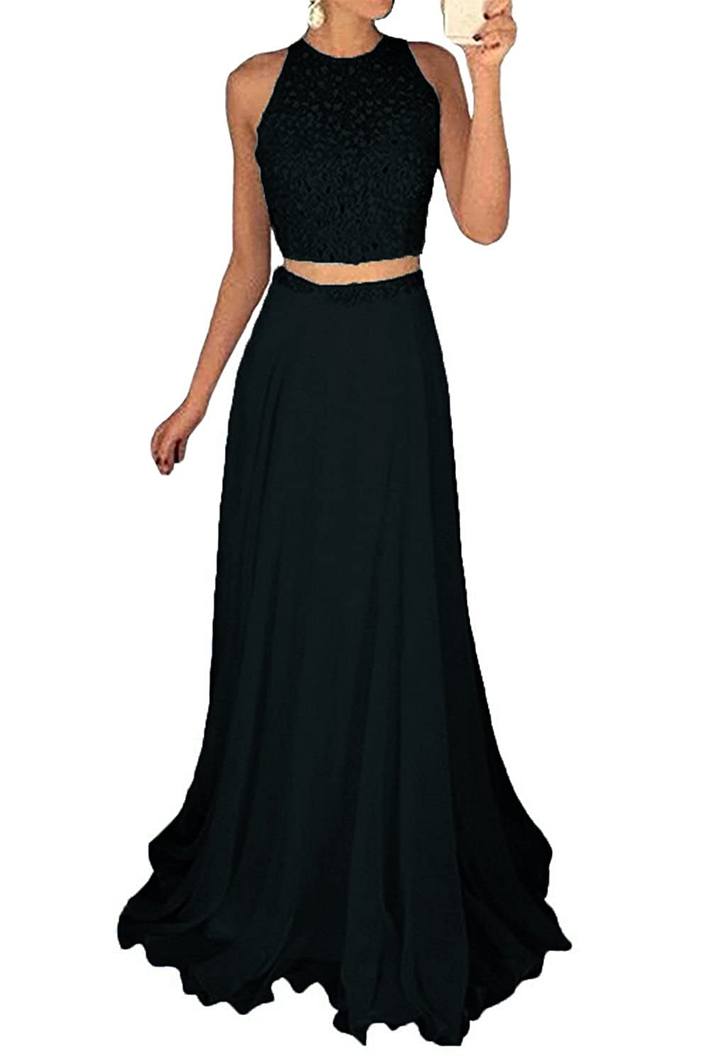 09a48570723 Amazon.com  2 piece prom dress. Amazon s Choice for 2 piece prom dress. Dydsz  Women s Prom Dress Short Homecoming Party Dresses 2 Piece Beaded Cocktail  Gown ...