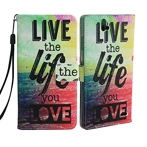 ZTE Warp Elite Case, ZTE Warp Elite Wallet Case, Harryshell (TM) Folio PU Leather Flip Case Cover with Credit Card Slot and Wrist Strap for ZTE Warp Elite N9518 (Boost Mobile) Photo #5