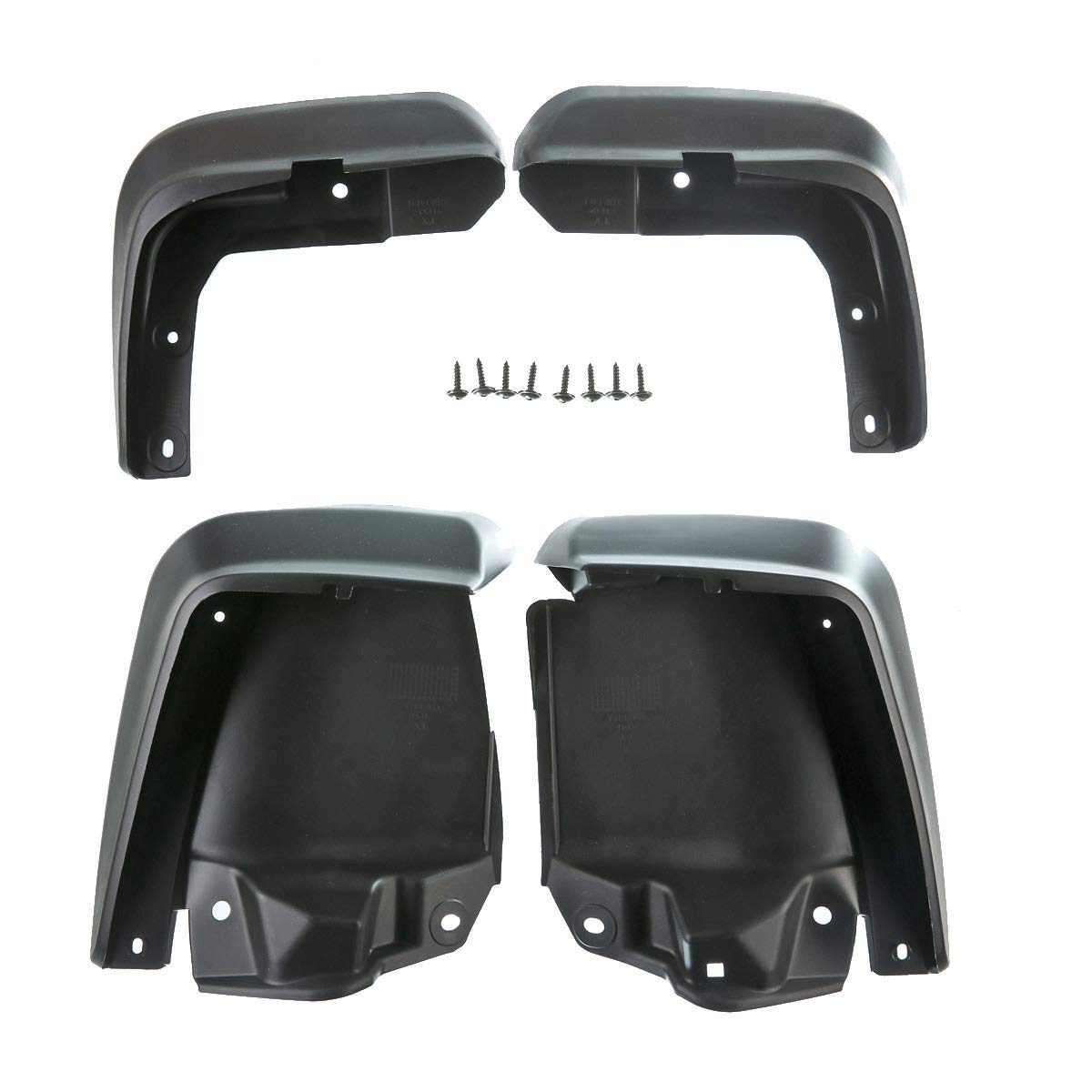 A-Premium Splash Guards Mud Flaps Mudflaps for Honda Civic 2006-2011 Sedan PremiumpartsWhosale