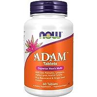 Now Foods Adam, Superior Men's Multi, Tablets, 60ct