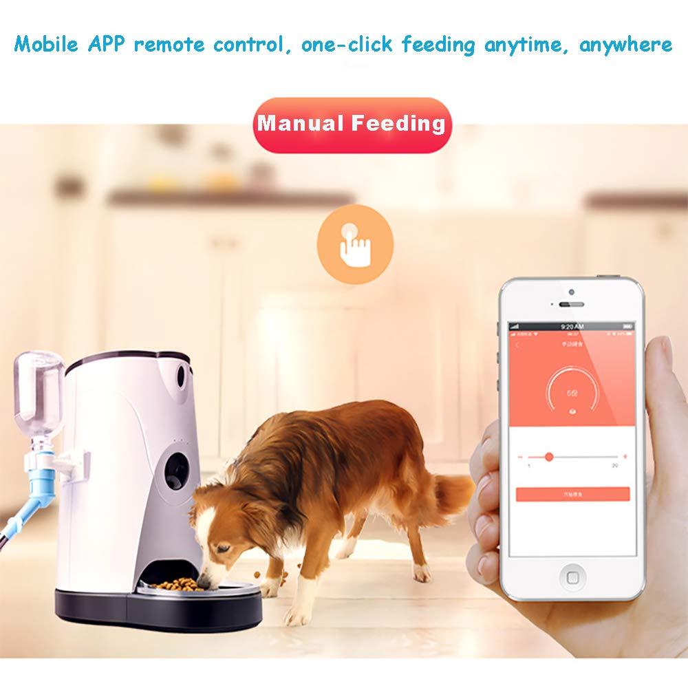 LBAFS Alimentatore Automatico per Animali Domestici con Telecamera per per per Cani E Gatti - Erogatore Acqua Intelligente per Alimenti con Timer Programmabile b1a3bc