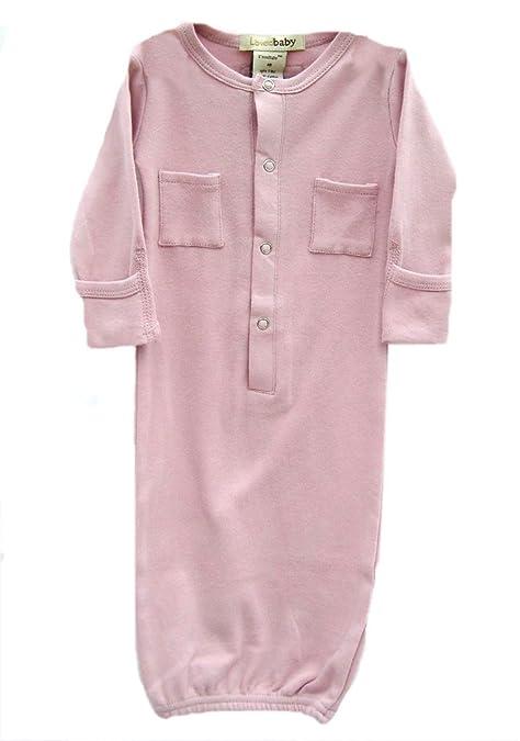 L Ovedbaby Nighttime - Pijama/Manta Albornoz, recién Nacido, Rosa ...