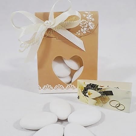 Caja de cartón para dulces con forma de sobre: Amazon.es: Hogar