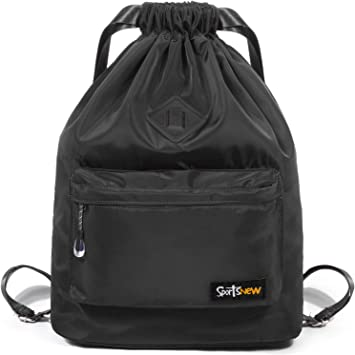 Amazon.com: SportsNew Mochila deportiva con cordón – Bolsa ...
