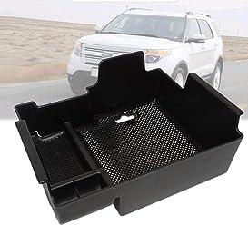 ABS Interior Trim Glove Box Handle Cover Trim 1pcs  for Ford Explorer 2011-2018