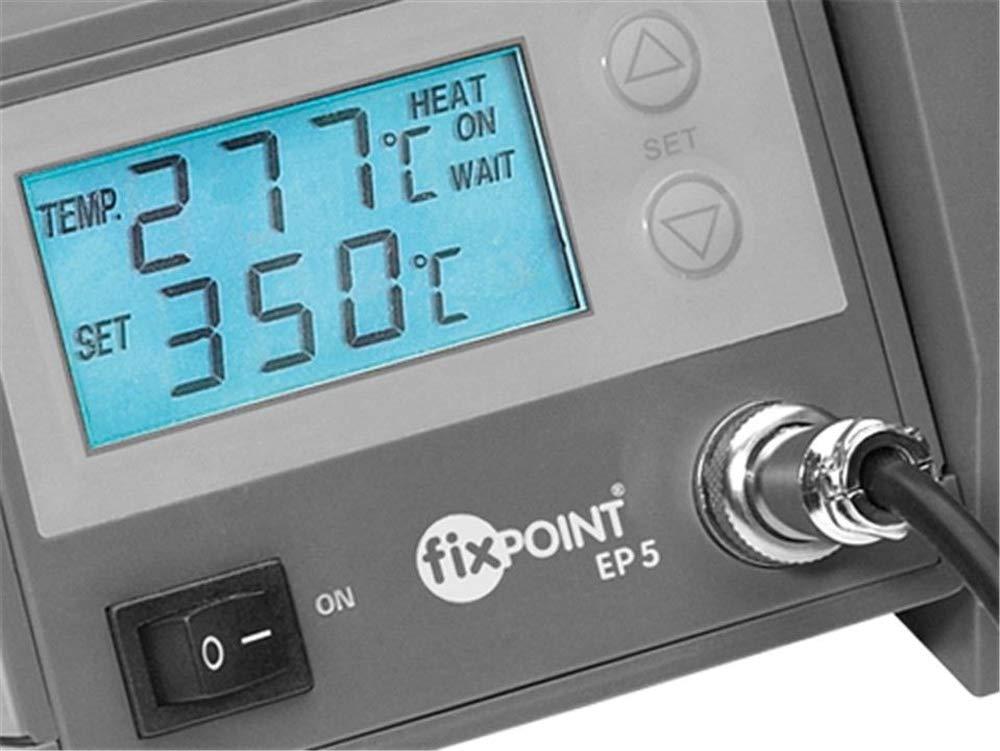Fixpoint 51098 Poste /à souder num/érique EP5