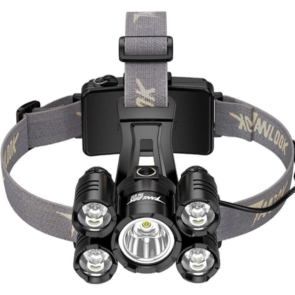 Weiße LED-Scheinwerfer Geeignet Für Laufen, Camping, Lesen, Klettern, Kinder, DIY, Akku-Lebensdauer 20 Stunden Super Helle 7000W Wasserdichte Scheinwerfer-Taschenlampe Miner Lampe