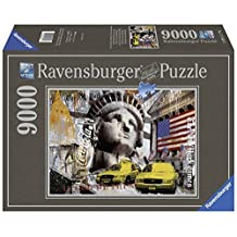Ravensburger Metropole New York City Jigsaw Puzzle (9000-Piece, Multi-Colour) by Ravensburger