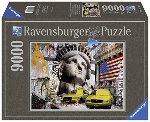 Ravensburger Ravensburger Ravensburger Metropole New York City Jigsaw Puzzle (9000-Piece, Multi-Colour) by Ravensburger 2a202f