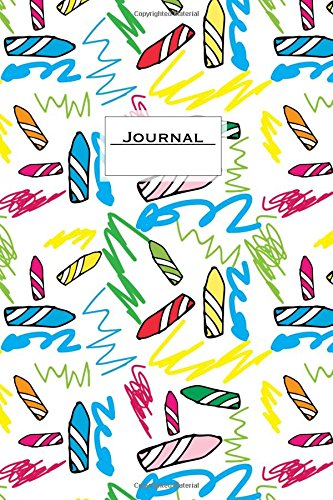 Download Journal: 6 x 9 Lined Notebook, Crayons, Soft Cover, For Kids (Journals To Write In) pdf epub