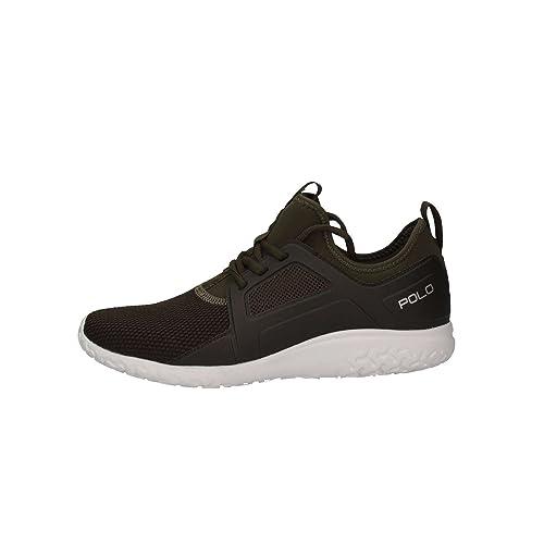 Polo Ralph Lauren 809669841 002 Zapatillas Hombre Verde 44: Amazon.es: Zapatos y complementos