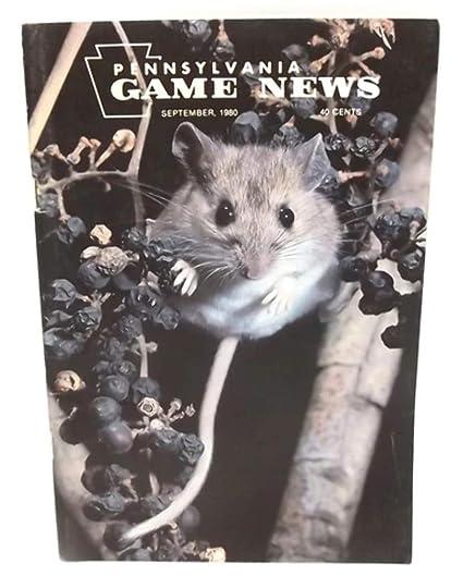 Amazon com : September 1980, Pennsylvania Game News Magazine