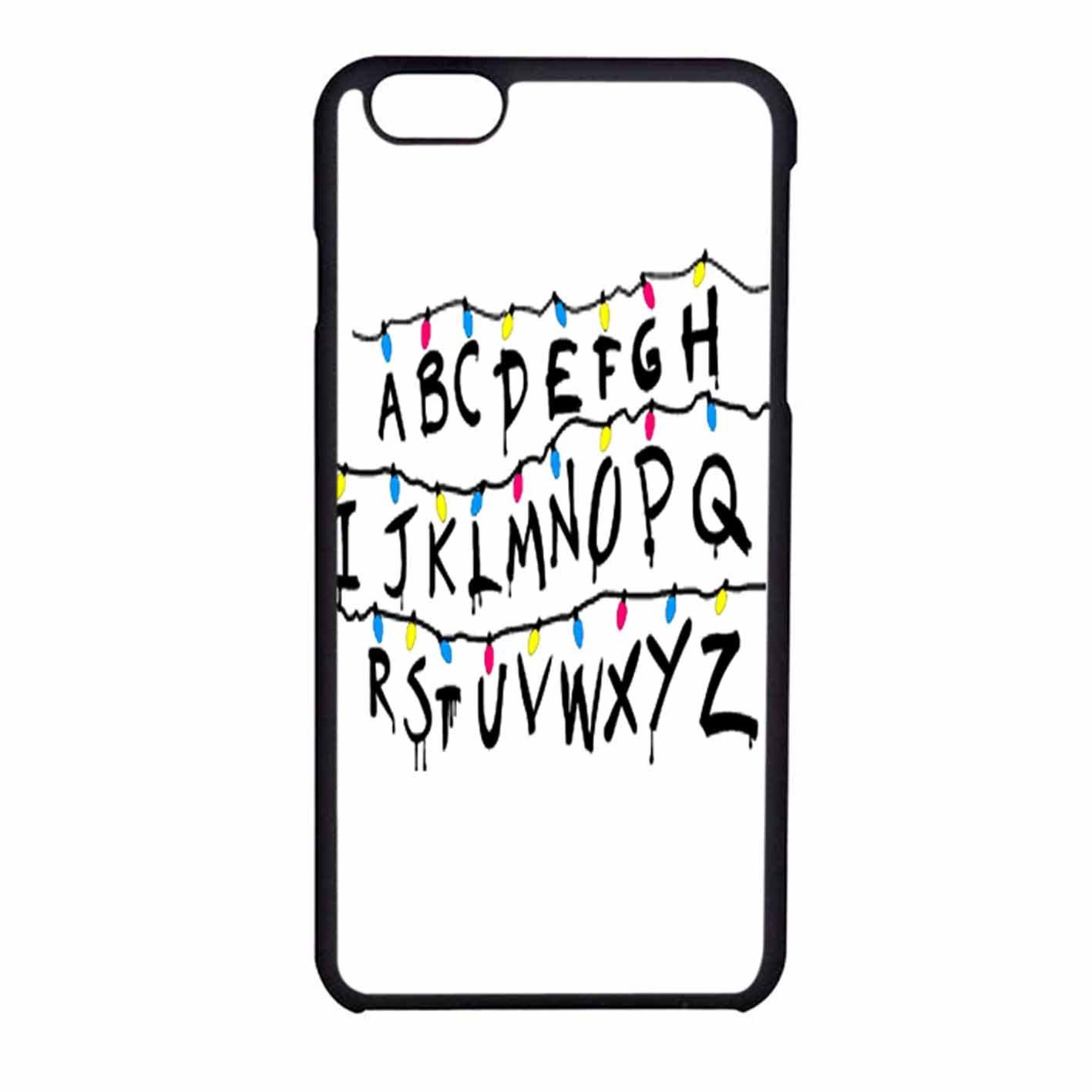 Stranger Things Alphabet Case Cover iPhone 5/5s