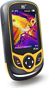 220 x 160 Thermal Imaging Camera, Pocket-Sized Infrared Camera with Real-Time Thermal Image