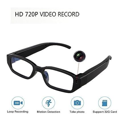 b1faa88f78 Amazon.com   HD Hidden Glasses Camera Mini DVR Surveillance Eyewear ...