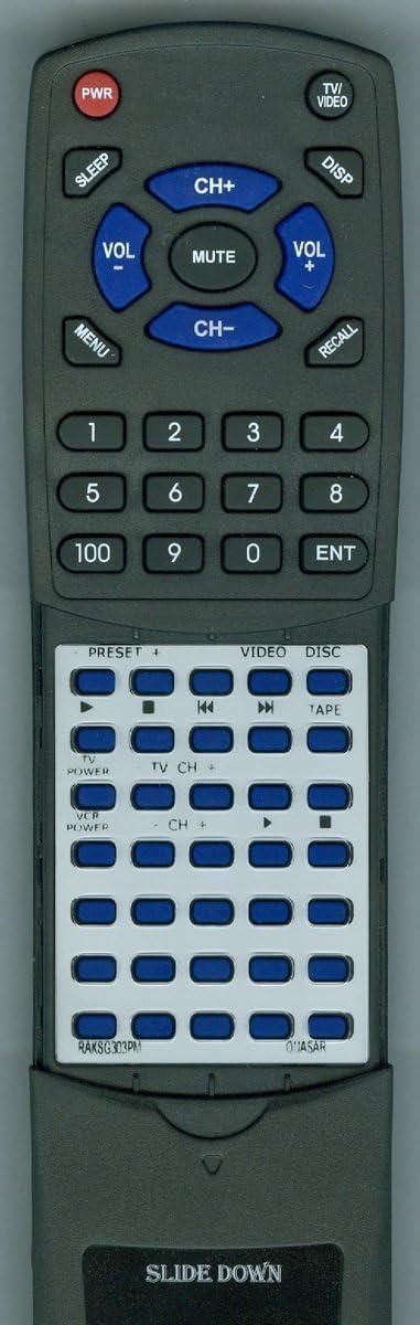 CR71 Replacement Remote Control for Quasar RAKSG303PM CS11 CS31