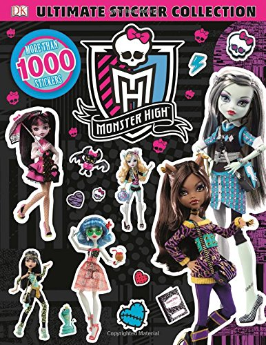 Ultimate Sticker Collection: Monster High (Ultimate Sticker