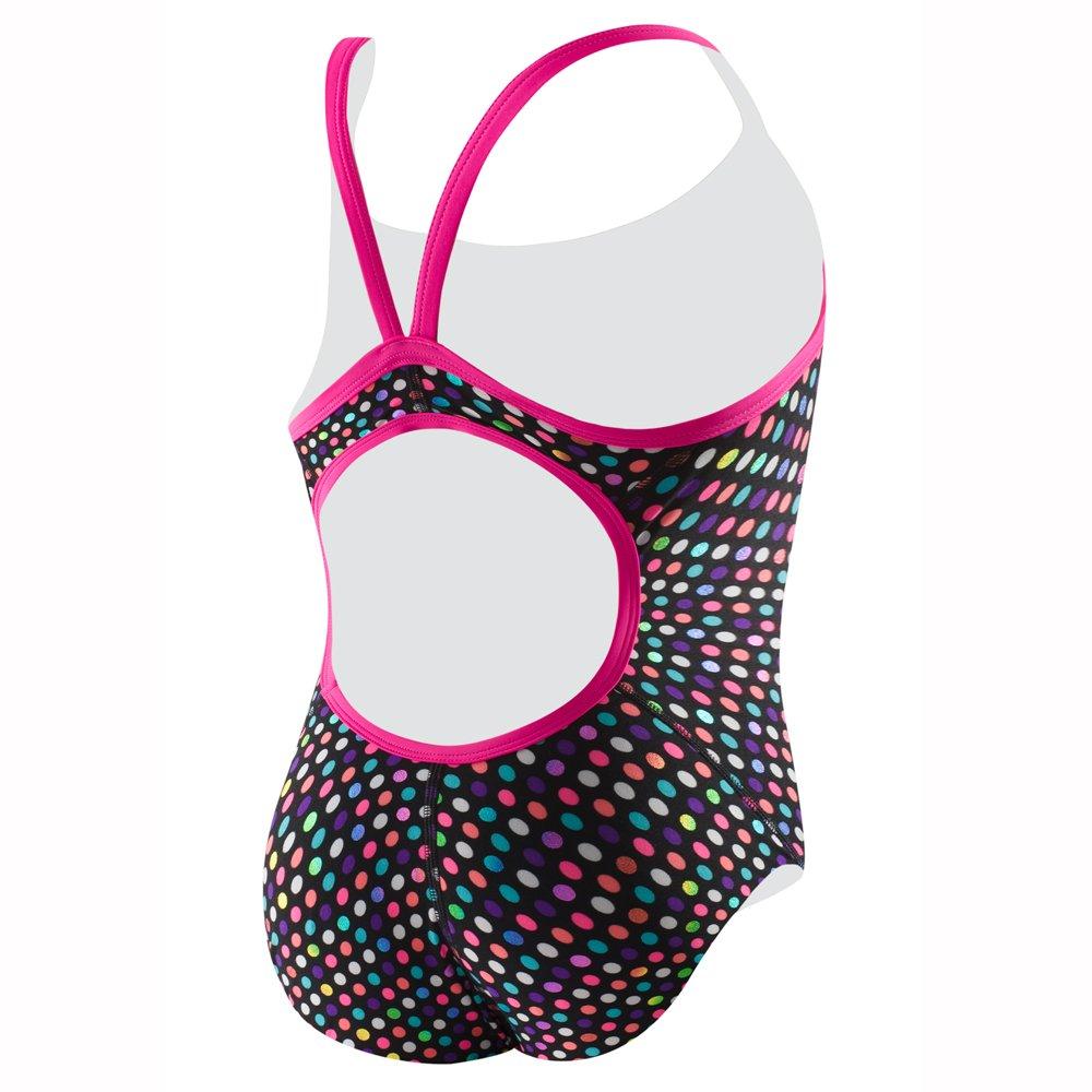 Amazon.com: Speedo Womens Flipturns Red Alert Propel Back Swimsuit: Sports & Outdoors