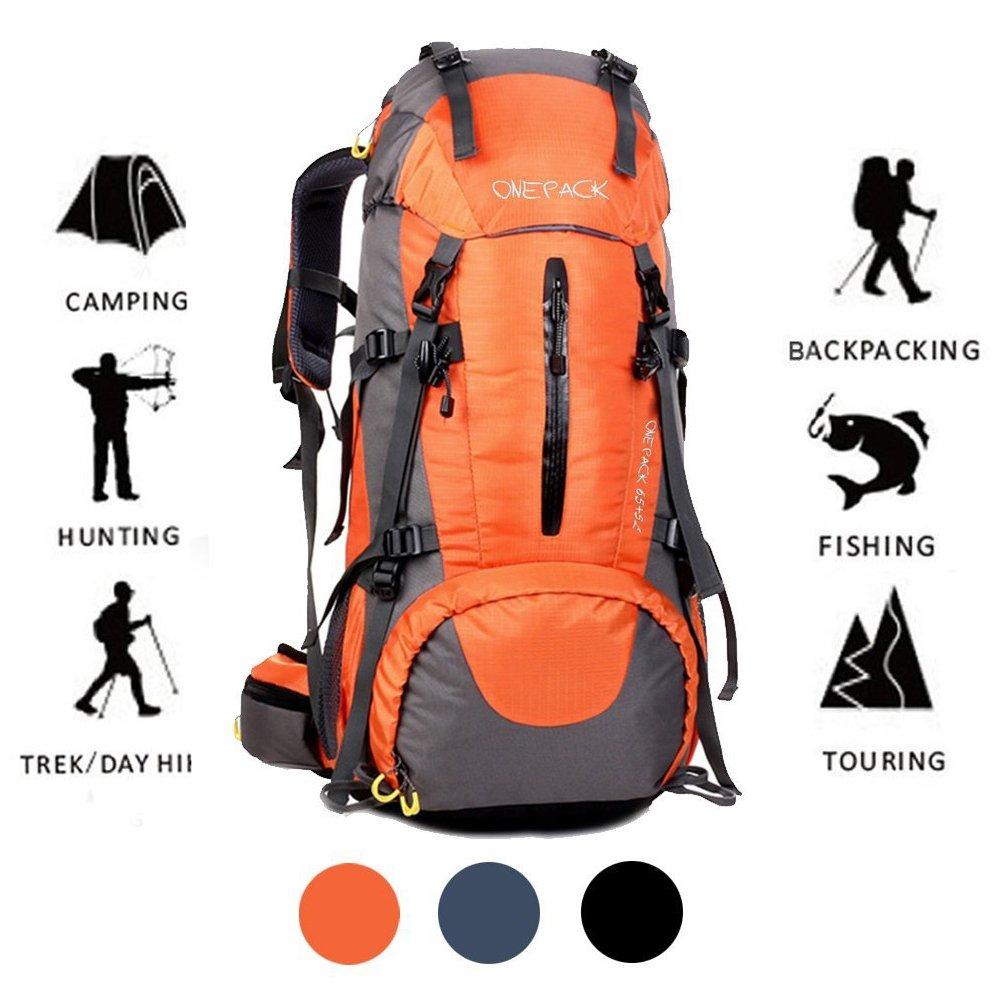 ONEPACK 70L Internal Frame Hiking Backpack