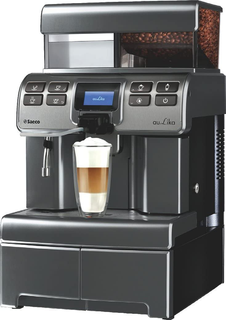 Saeco Aulika Top High Speed Cappuccino Independiente Totalmente automática 4L 2tazas Negro - Cafetera (Independiente, 4 L, Granos de café, Molinillo integrado, 1400 W, Negro): Amazon.es: Hogar
