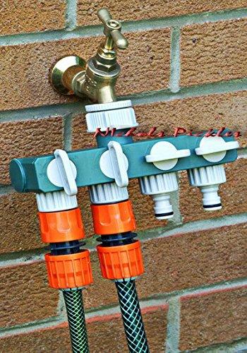 Generic NV _ 1001004267_ yc-uk2unzähligen/HO/Wasserhahn/Schlauch ADAP 4Wege onnec Adapter PLITT Garten Stecker Splitter 4Way G