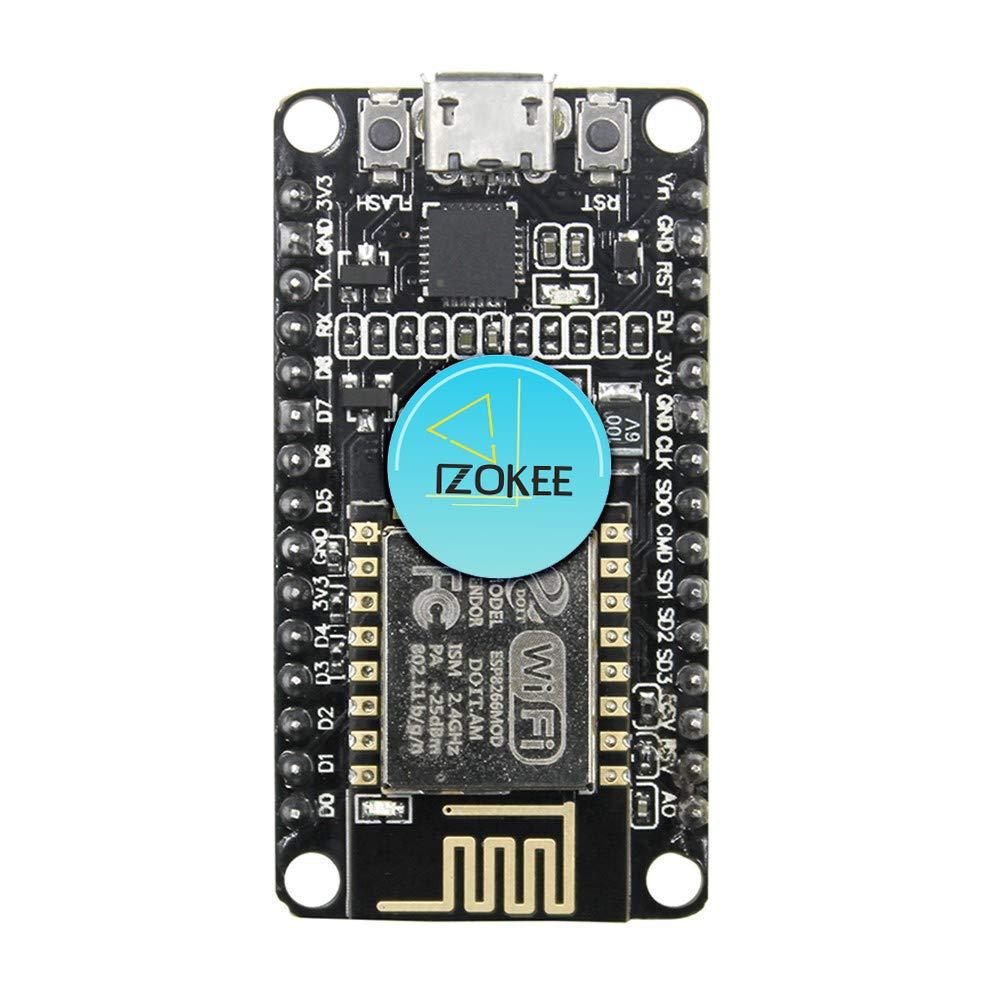 IZOKEE NodeMCU Lua Amica Module ESP8266 ESP-12E WiFi