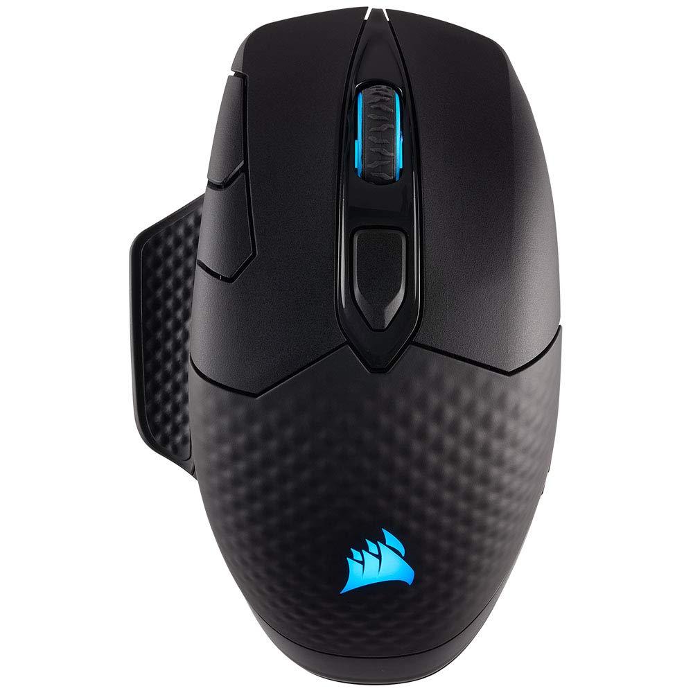 Gaming-Maus Corsair DARK CORE RGB von oben