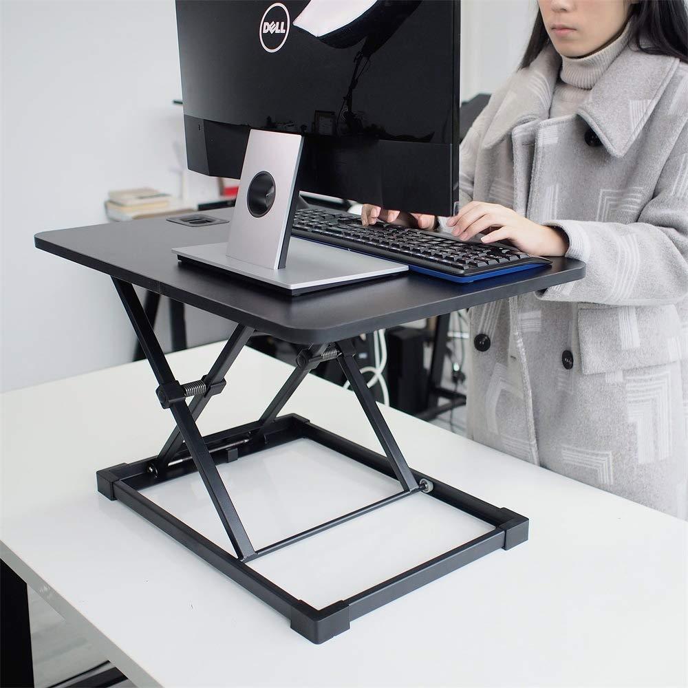 LIULIFE Laptop Desktop Table Converter Sit-Stand Desk Height Adjustable Ergonomic Office Workstation Riser for PC Computer Screen by LIULIFE (Image #2)
