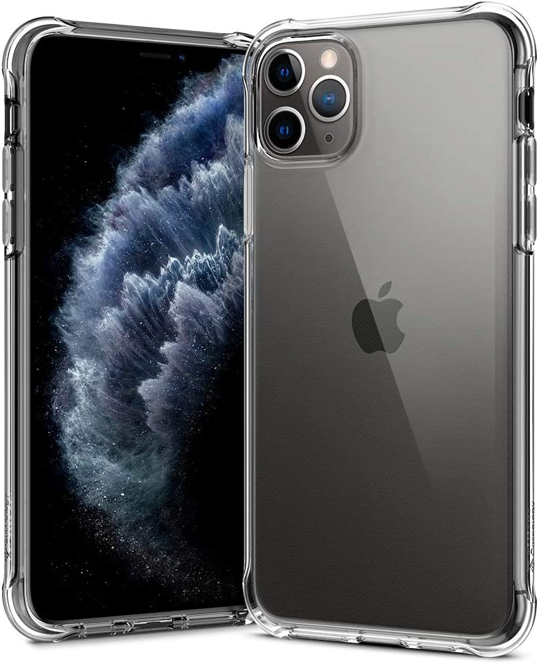 Caseology Solid Flex Crystal for Apple iPhone 11 Pro Max Case (2019) - Crystal Clear