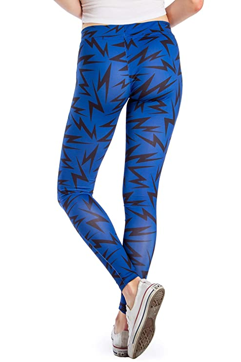 10ba4c6798 Tipsy Elves Women's Wild Neon Leggings - Colorful Patterned 80's Leggings  Workout Leggings Female at Amazon Women's Clothing store: