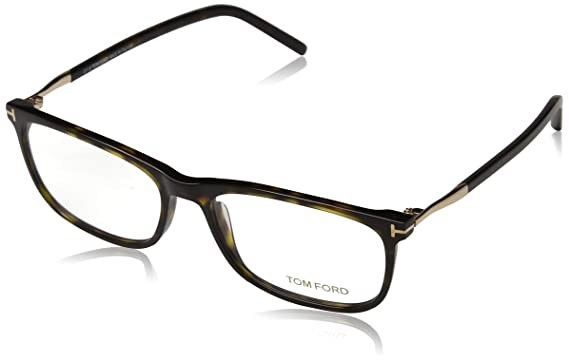 8177f11035 Image Unavailable. Image not available for. Color  TOM FORD TF 5398 052 Dark  Havana Clear Rectangular Eyeglasses 55mm
