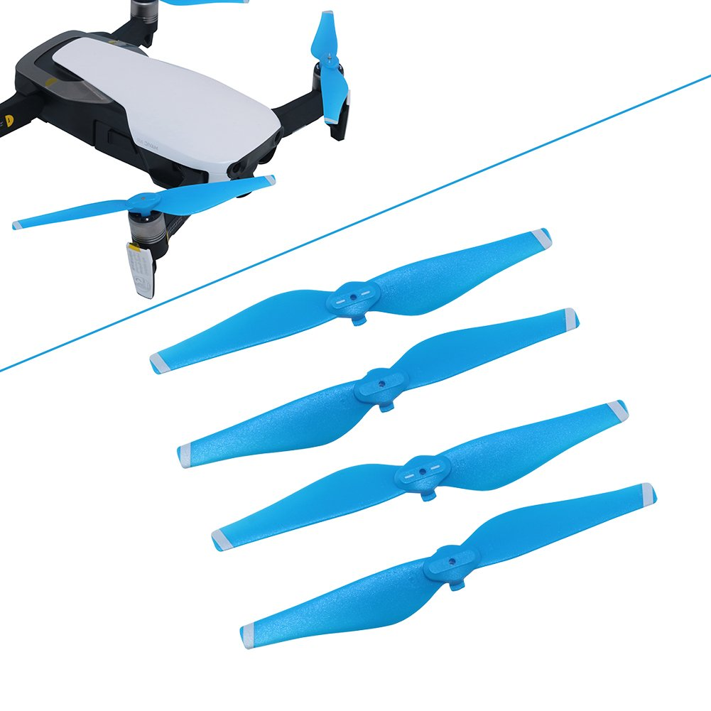 b24f5518910 Amazon.com: BTG Quick Release Colored Propellers DJI Mavic Air Foldable  Drone - CW+CCW Props Blades Parts (3-Color): Toys & Games
