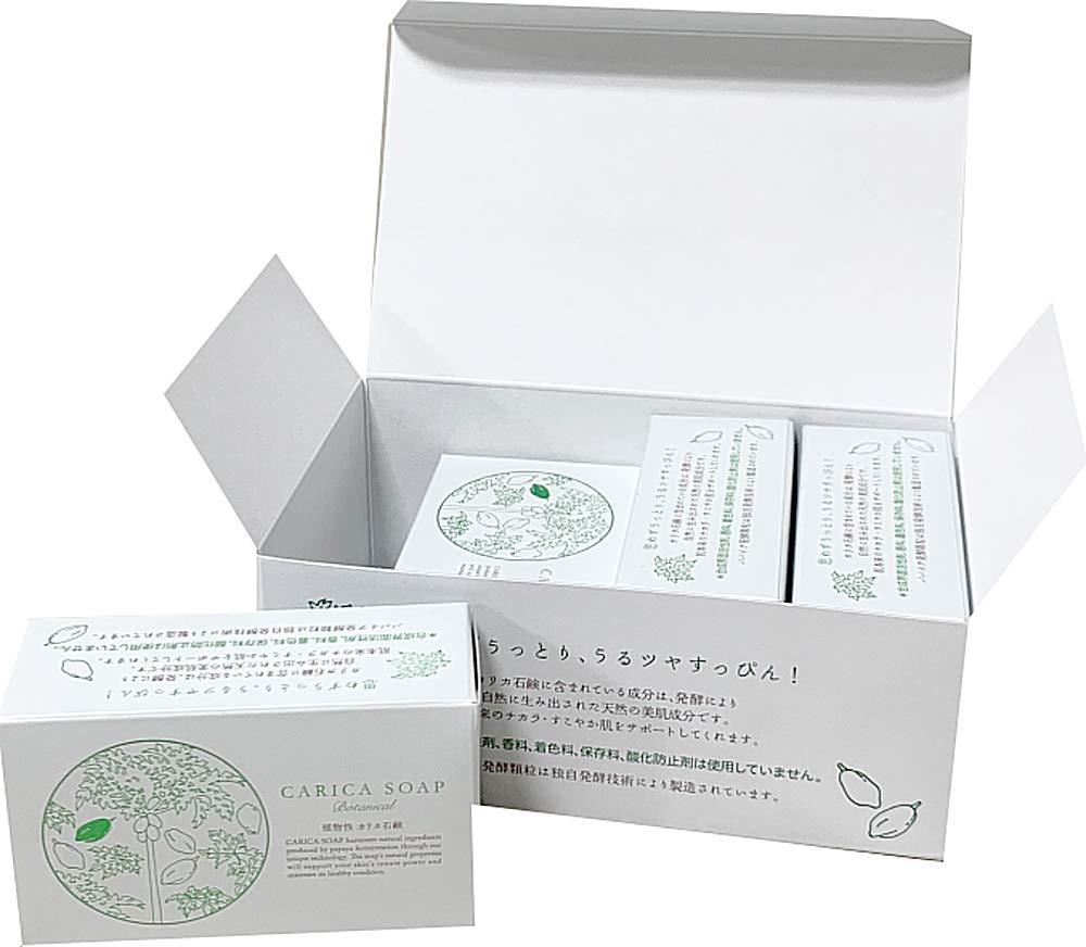 植物性カリカ石鹸100g お得な4個セット(箱入) B07Q32CQ6H