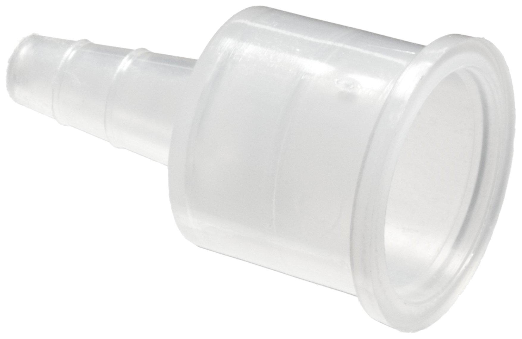 Bel-Art Replacement Polypropylene Tube Fittings; For ¼ to ⅜ in. I.D. Tubes (Pack of 12) (F19965-0000)