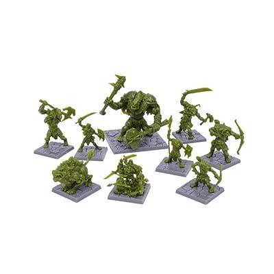 Mantic Games Dungeon Saga: The Green Rage Miniature Set: Toys & Games