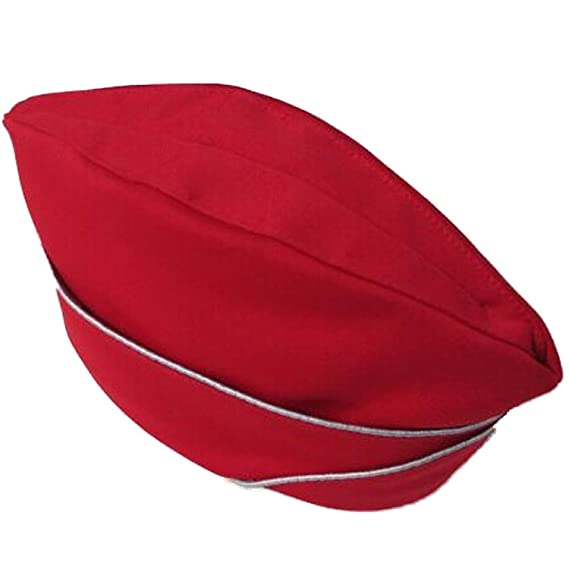 808d8a096ba Unisex Boat Design German Airline Stewardess Attendant Hat Cap   Amazon.co.uk  Sports   Outdoors