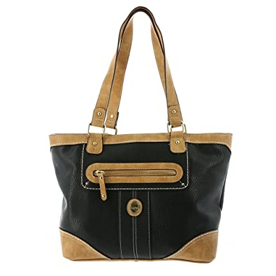 Amazon.com  b.o.c. Women s Mcallister Tote Black Handbag  Shoes d4e50bea166ce