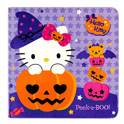 Hello Kitty Halloween Board Book For Kids Toddlers Girls (Hello Kitty