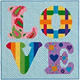 Canoodles-- Love-- Needlepoint Kit
