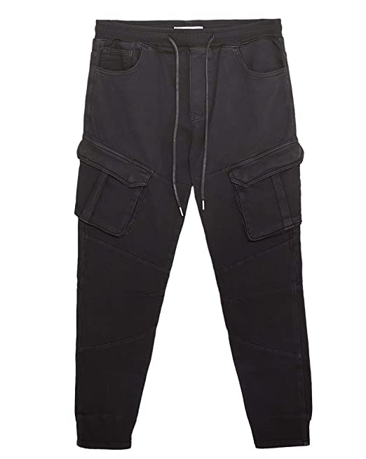 acf51e3b18 Zara Men's Soft Denim Joggers 5862/434: Amazon.co.uk: Clothing