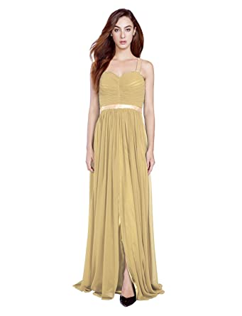 Ssyiz Chiffon Off Shoulder Sequins Ruched Bust Backless Design Long Evening Dress Prom Gowns (Provide