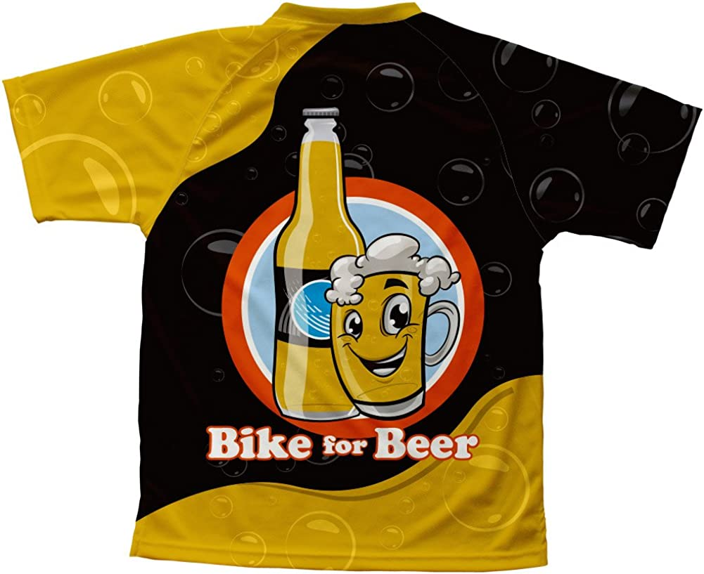 ScudoPro Bike for Beer Technical T-Shirt for Men and Women