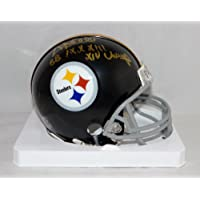 $65 » Donnie Shell Signed Steelers 63-76 TB Mini Helmet W/ SB Champs-Jersey Source Auth
