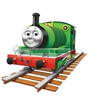 6 GREEN ENGINE Thomas Tank And Friends Train Wall Decal Sticker Decor