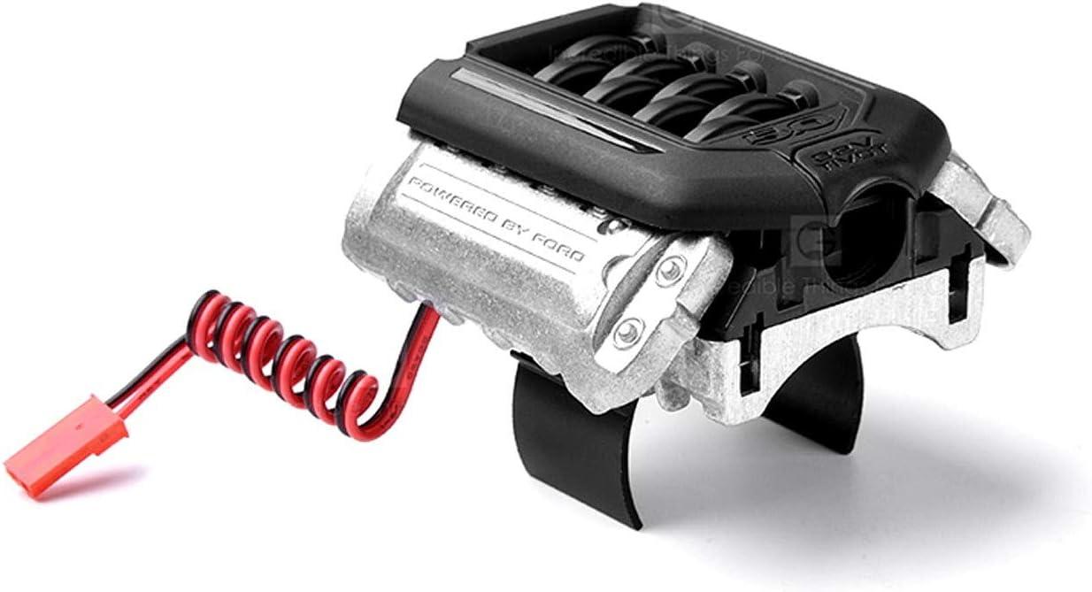 ARUNDEL SERVICES EU Ventilador del Motor Motor F11 V8 5.0 Ventilador de enfriamiento para 1/10 RC Crawler Coche Traxxas TRX4 Defensor Bronco AXIAL SCX10 RC4WD D90 D110 Modelos RC