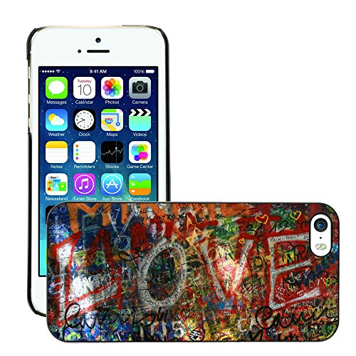 Premio Sottile Slim Cassa Custodia Case Cover Shell // V00002312 Graffiti // Apple iPhone 5 5S 5G