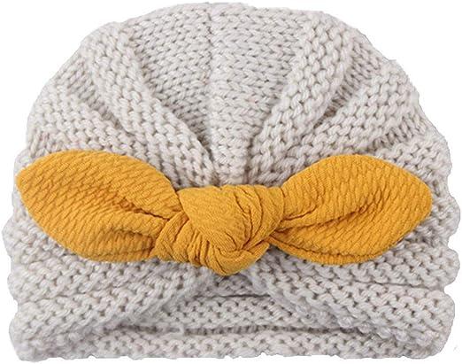Toddler Kids Girl/&Boy Baby Infant Winter Warm Crochet Knitted Hat Beanie Cap