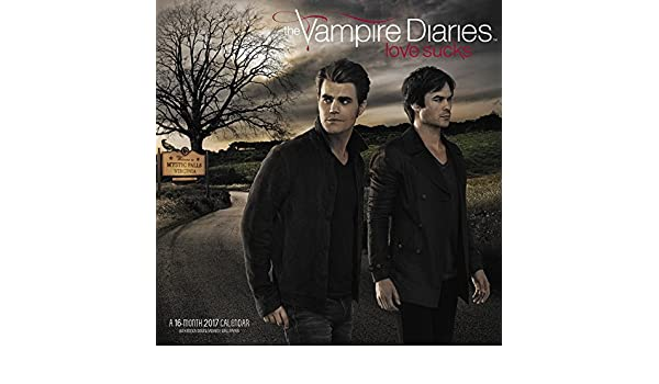 The Vampire Diaries Wall Calendar (2017): Amazon.es: Libros